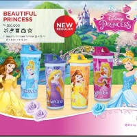 moorlife tupperware kids tumbler set botol minum anak princess murah