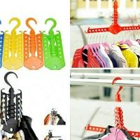 Magic Hanger Gantungan Baju Pakaian Multifungsi Portable Colorfull