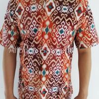 harga Kemeja Batik Modern Lengan Pendek Katun, Batik Keraton 575e Tokopedia.com