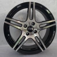 Velg Mobil Ring 16 JD51 4x100 tersedia dalam 2 varian warna[deskripsi]