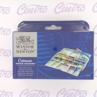 COTMAN WATER COLOURS WINSOR & NEWTON 12 / COTMAN CAT AIR ISI 12
