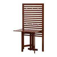 IKEA APPLARO Panel Dinding + Meja Lipat, Luar Ruang / Taman / Outdoor