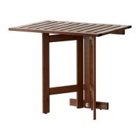 IKEA APPLARO Meja Lipat Dinding, Luar Ruang / Taman / Outdoor, Cokelat