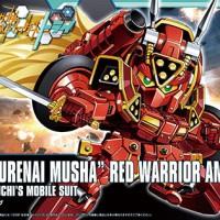 """SDBF """"Kurenai Musha"""" Red Warrior Amazing"""