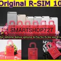 Rsim10 / Rsim Pro 10 / Unlock iPhone 5c, 5s, 6s, 6+ IOS 8.x.x, 9.x.x