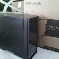 Thermaltake Casing Urban S1 (Black)
