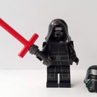 Jual Lego Minifigure Star Wars Kylo Ren + Light Saber & Black Hood Murah