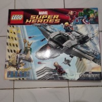 Lego 6869 Quinjet Aerial Battle ship only