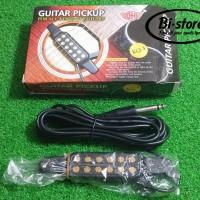 HOT ! Pick Up Spul Gitar Effect Akustik DH KQ-3 NEW
