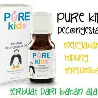 Pure Kids Inhalant Decongestan Oil / Obat Hidung Tersumbat Anak