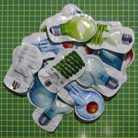 bomb bag joke bom kantung kantong gambar bohlam bulb lampu mainan toys