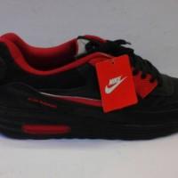 sepatu murah nike  air max  hitam merah 015 + box