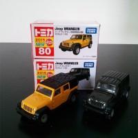 Tomica Reguler Set 80 Jeep Wrangler 2015
