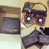 Water Cooling Compact ID Cooling Hunter Duet CPU & VGA
