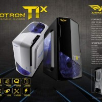 Power Logic Armageddon Nanotron T1X (Casing Gaming) - White