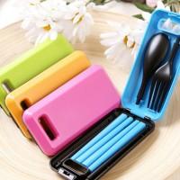 Sendok portable travelling / peralatan makan /