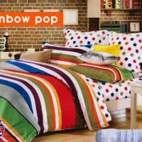 Sprei STAR Rainbow Pop (180X200X20)