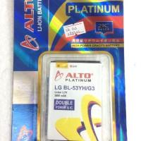 Battery Double Power Alto Platinum Lg G3 Stylust / Bl 53yh - G3