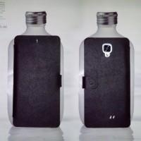 harga CASE FLIPCASE HIMAX PURE 3S KULIT ASLI BLACK TEFLON ( HARD SOFTCASE ) Tokopedia.com