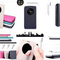 Nillkin Sparkle Leather Flip Quick Circle View Smart Cover Case Lg G3
