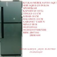 Kulkas Merek Sanyo / Haier Aqua Seri AQR D 239 POLOS