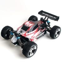 HobbyMall RC Buggy Vortex A959 WL Toys 1:18 Scale 4WD (merah)