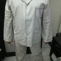 Piyama Baju Tidur Pria / Cowok Tangan Panjang