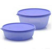 Tupperware modular bowl set. (2)