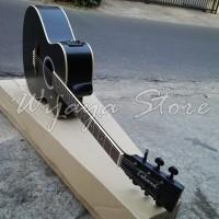 Gitar Lakewood Custom Black aw5 Analog akustik elektrik