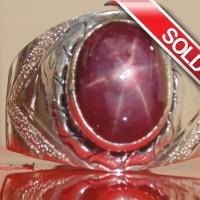 harga Cincin Batu Permata Ruby Daging Birma Star Tajam / Ster 6 Tokopedia.com