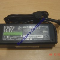 harga Charger Adaptor Laptop Sony Vaio Logo - 19.5v 4.7a Original / Asli Tokopedia.com