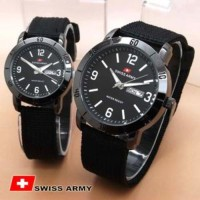 harga SwissArmy-Couple-Canvas-Black Tokopedia.com