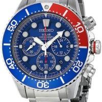 Jam tangan Seiko Solar SSC019P1 Divers Chronograph