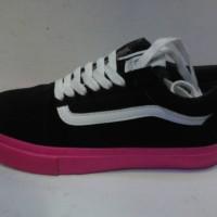 sepatu murah vans golf wang grade ori black + box
