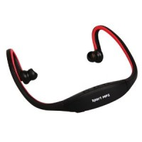 Mp3 Sport Earphone Neckband With Slot Micro SD