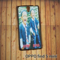 Oppo Find 5 Mini R827 Case Custom - Softcase Skin Custom Gambar / Foto