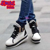 sepatu kets sneaker hitam putih black keren fashion murah unik