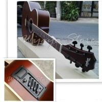 Gitar Taylor brown custom eq7545R