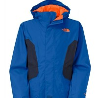 The North Face Boy's Boundary Triclimate Jacket, color Monster Blue