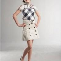 Baju Anak - Burberry Skirt Set (GI-662)