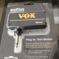 VOX Amplug Metal Headphone Guitar Amplifier