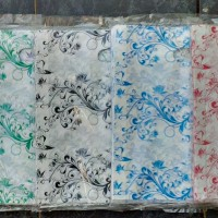 Kantong Plastik Pond Oval Motif Batik uk. 36/30 x 32