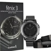 Jam Tangan Garmin Fenix 3 Gray Dan Silver Lengkap Dengan Gps Glonass
