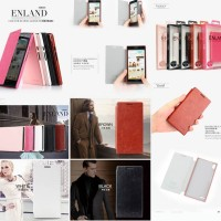 Kalaideng Enland Leather Case Huawei Ascend P6 Flip Cover