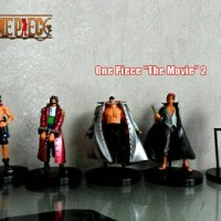 "action Figure One Piece ""The Movie"" 2 (5pcs) Tinggi Figure +/-12cm"