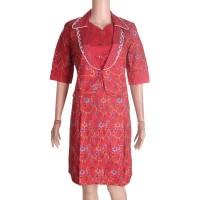 Dress + Bolero Batik Fernita