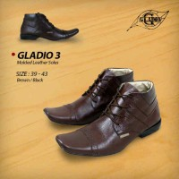 Sepatu gladio molded leather soles