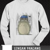 Jual kaos Panjang studio ghibli inspired totoro tshirt distro clothing Murah