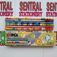 Big Fancy Pencil Pensil Kayu 2b - 813