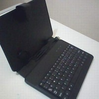 Leather Case + Keyboar Tab 7 Inch USB Universal (Type-A)